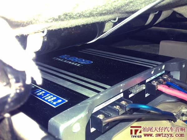 五菱宏光改装嘉利堡低音高清图片